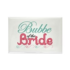 Bubbe of the Bride Rectangle Magnet