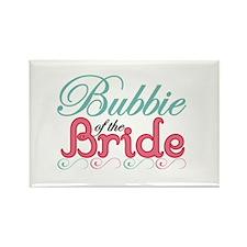 Bubbie of the Bride Rectangle Magnet