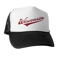 Retro Wisconsin Trucker Hat