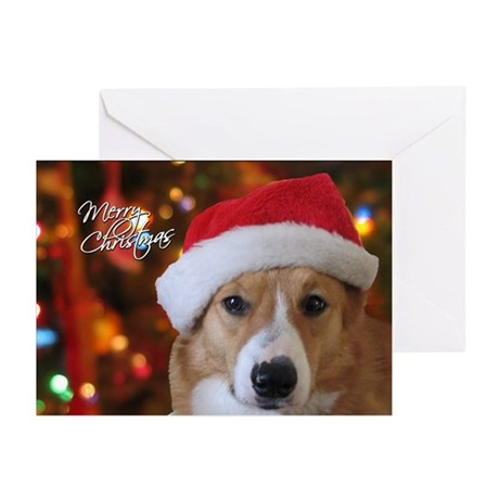 Pembroke Welsh Corgi Christmas Cards (Pk of 20)