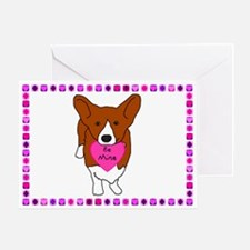 Pembroke Welsh Corgi Valentine (Single Card)