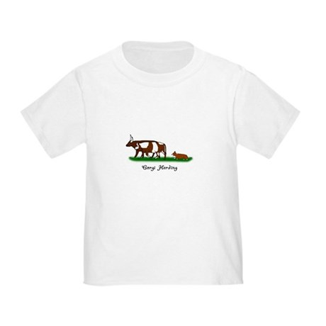 Corgi Herding Toddler T Shirt