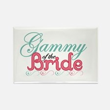 Gammy of the Bride Rectangle Magnet