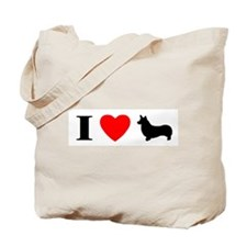 I Heart Pembroke Tote Bag