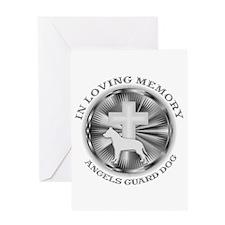 PIT BULL LOVING MEMORY Greeting Card