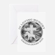 PIT BULL LOVING MEMORY Greeting Card