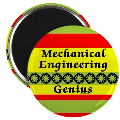 "Mechanical Engineering Genius 2.25"" Magnet (100 pa"