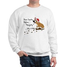 Naughty Xmas Corgi Sweatshirt
