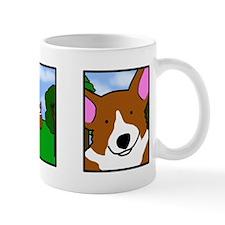 Corgi Comic Strip Mug