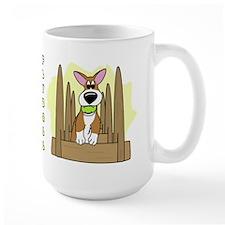 Cartoon Corgi Flyball Mug