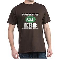 "Dark ""Property of KBB"" T-Shirt"