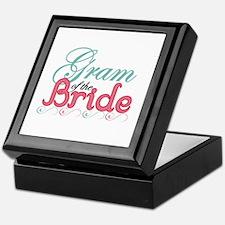 Gram of the Bride Keepsake Box