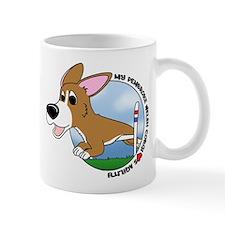 Cartoon Pembroke Agility Mug