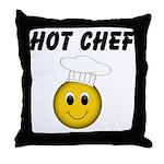 Hot Chef Throw Pillow