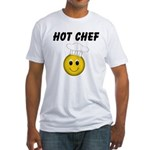 Hot Chef Fitted T-Shirt
