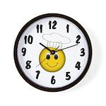 Hot Chef Wall Clock