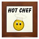 Hot Chef Framed Tile