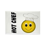 Hot Chef Rectangle Magnet (10 pack)