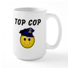 Top Cop Ceramic Mugs