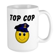 Top Cop Coffee Mug