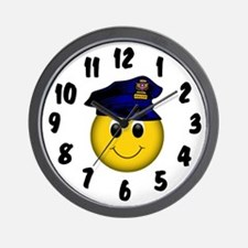 Policeman Wall Clock