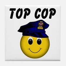 Top Cop Tile Coaster