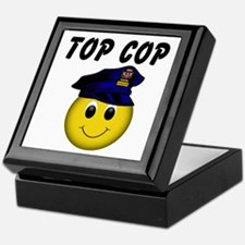 Top Cop Keepsake Box