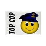 Top Cop Rectangle Magnet (10 pack)