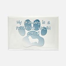 Pembroke Granddog Rectangle Magnet