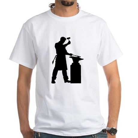 Blacksmiths and Farriers White T-Shirt