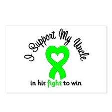 Lymphoma Uncle Support Postcards (Package of 8)