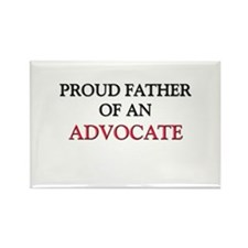 Proud Father Of An ADVOCATE Rectangle Magnet