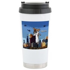 Corgi-zilla Travel Mug
