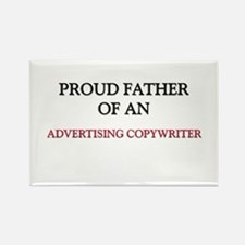 Proud Father Of An ADVERTISING COPYWRITER Rectangl