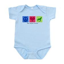 Peace Love AWS Infant Bodysuit