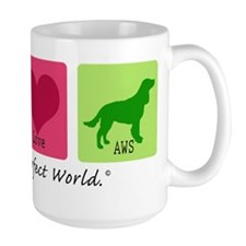Peace Love AWS Mug