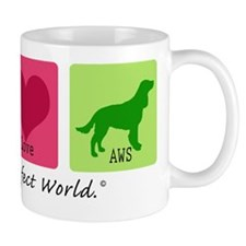 Peace Love AWS Mug