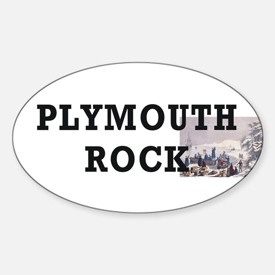 ABH Plymouth Rock Sticker (Oval)