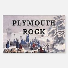 ABH Plymouth Rock Sticker (Rectangle)