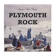 ABH Plymouth Rock Tile Coaster