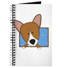 Cartoon Pembroke Welsh Corgi Journal