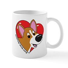 Cartoon Corgi Love Mug
