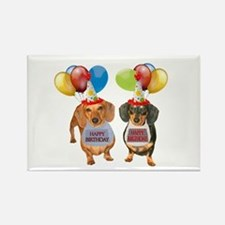 Doxie Birthday Rectangle Magnet
