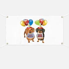 Doxie Birthday Banner