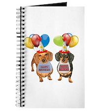 Doxie Birthday Journal