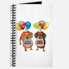 Doxie Birthday Journal