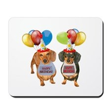 Doxie Birthday Mousepad