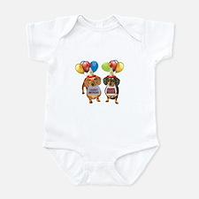 Doxie Birthday Infant Bodysuit