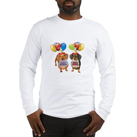 Doxie Birthday Long Sleeve T-Shirt