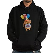 Red Doxie Birthday Hoodie